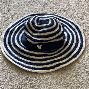 Disney Striped Floppy Beach Hat